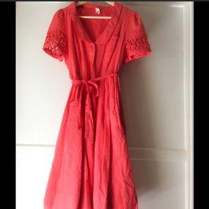 Anthropologie Dresses - Anthropologie Maeve Tiny Windows Dress